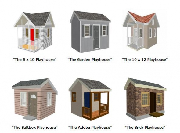 Plans For Playhouse 1